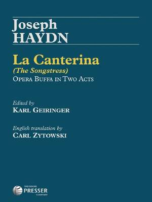 Haydn, J: La Canterina (The Songstress)