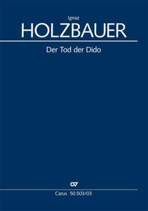 Ignaz Holzbauer: Der Tod der Dido