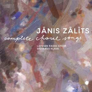Janis Zalits: Complete Choral Songs