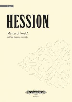 Toby Hession: Master of Music