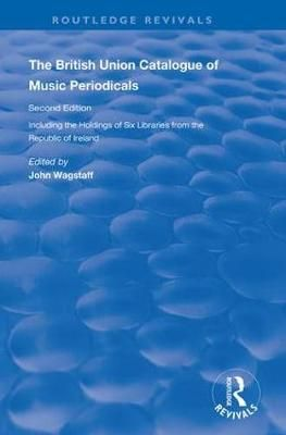 The British Union Catalogue of Music Periodicals