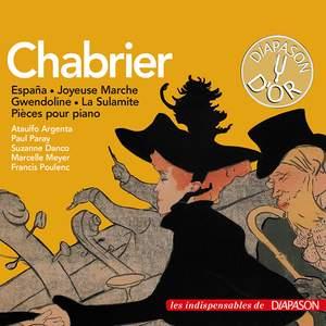 Chabrier: España, Bourrée fantasque, La sulamite & autres œuvres (Les indispensables de Diapason)