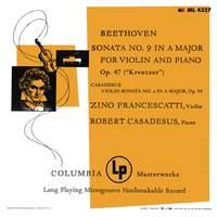 Beethoven & Casadesus: Violin Sonatas