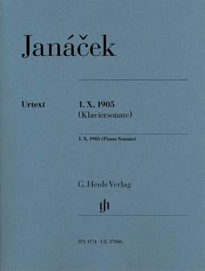 Janácek, L: 1. X. 1905 (sonate Pour Piano)