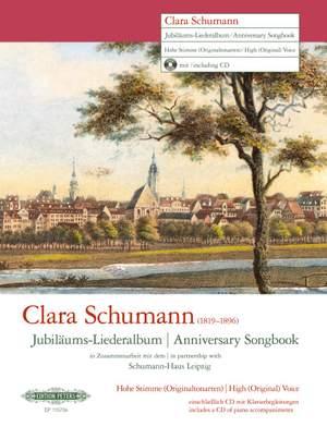 Clara Schumann: Anniversary Songbook (High Voice)