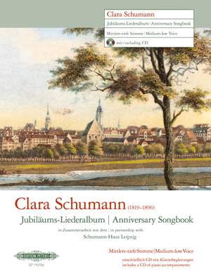 Clara Schumann: Anniversary Songbook (Medium-Low Voice)