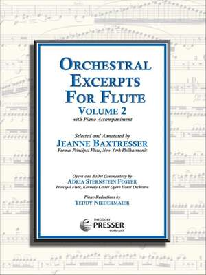 Orchestral Excerpts for Flute Product Image