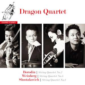 Borodin, Shostakovich & Weinberg: String Quartets