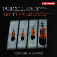 Doric String Quartet play Purcell & Britten
