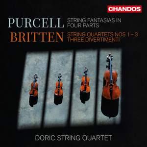 Doric String Quartet play Purcell & Britten
