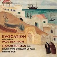 Evocation: Violin Works by Paul Ben-Haim