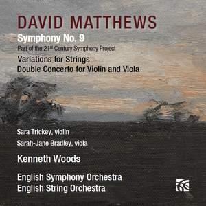 David Matthews: Symphony No. 9 Product Image