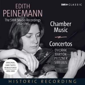 Edith Peinemann: The SWR Studio Recordings 1952-1965