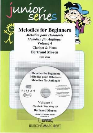 Bertrand Moren: Melodies For Beginners - Volume 4