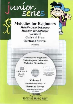 Bertrand Moren: Melodies For Beginners - Volume 2
