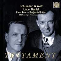 Schumann & Wolf - Lieder Recital