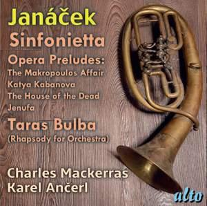 Janáček: Sinfonietta, Taras Bulba & Opera Preludes