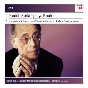 Rudolf Serkin Plays Bach
