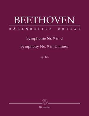 Beethoven, Ludwig van: Symphony no. 9 in D minor op. 125 (Hardback Full Score)