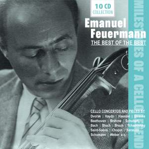 Emanuel Feuermann - Milestones of a Cello Legend