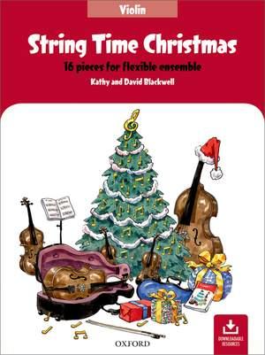 String Time Christmas: Violin Book