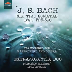 JS Bach: 6 Trio Sonatas, BWVV 525-530