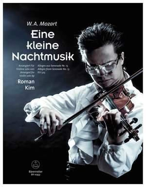 Mozart, Wolfgang Amadeus: Eine kleine Nachtmusik for Violin solo