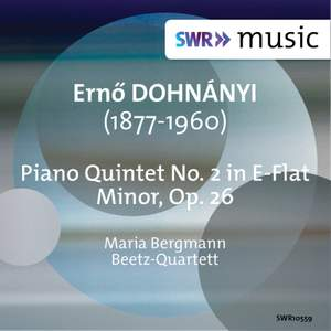 Dohnániy: Piano Quintet No. 2 in E-Flat Minor, Op. 26