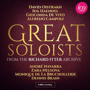 Great Soloists from the Richard Itter Archive