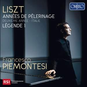 Liszt: Années de Pèlerinage; Deuxiéme année - Italie & Legende 1