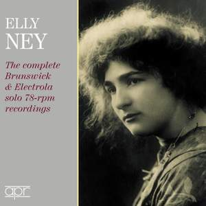 Elly Ney: The complete Brunswick & Electrola solo Product Image
