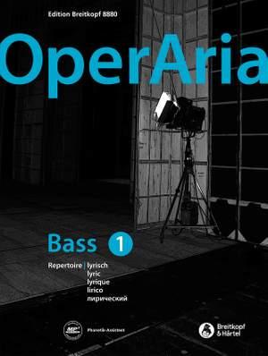 OperAria Bass Volume 1: Lyric