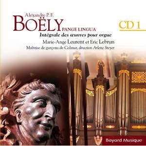 Boëly : Pange Lingua : Le temps de Noël - Vol.1