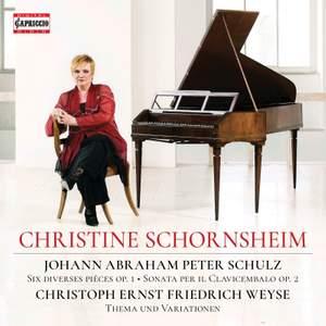 Christine Schornsheim plays Schulz and Weyse