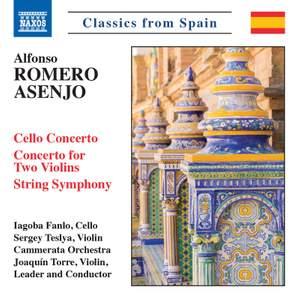 Alfonso Romero Asenjo: Cello Concerto, Concerto for Two Violins, String Symphony