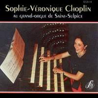 Sophie-Véronique Choplin au grand-orgue de Saint-Sulpice