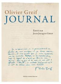 Jean-Jacques Greif: Olivier Greif - Journal