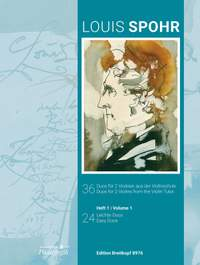 Louis Spohr: 36 Duos for 2 Violins from the Violin Tutor (Volume 1)
