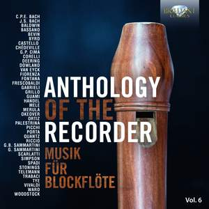 Anthology of the Recorder, Vol. 6 Product Image