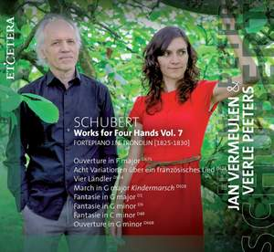 Schubert: Works for Piano Four Hands Vol. 7
