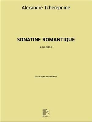 Alexander Tcherepnin: Sonatine Romantique Op 4 Piano Product Image