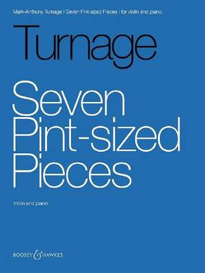 Turnage, M: Seven Pint-sized Pieces