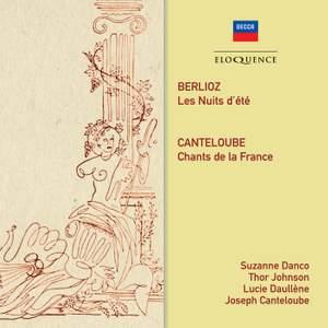 Berlioz: Les Nuits d'été & Canteloube: Chants de France Product Image