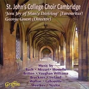 'Jesu, Joy of Man's Desiring' - favourite Choral works