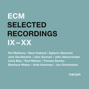 Selected Recordings IX - XX Product Image