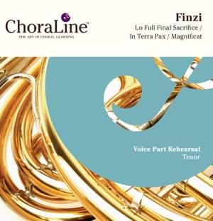 Finzi: Lo, The Full Final Sacrifice / In Terra Pax / Magnificat