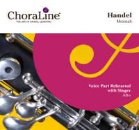 """Handel: Messiah (""""ChoraLine With Singer"""" Series)"""