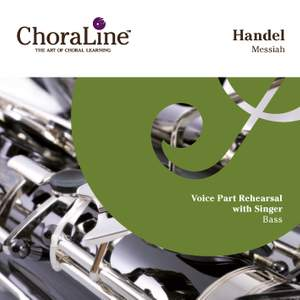 "Handel: Messiah (""ChoraLine With Singer"" Series) Product Image"