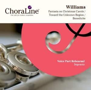 Vaughan Williams: Fantasia on Christmas Carols / Toward the Unknown Region / Benedicite