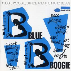 Blue Boogie: Boogie Woogie, Stride And The Piano Blues Product Image
